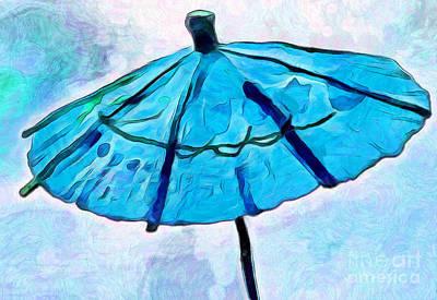 Summer Blues Print by Krissy Katsimbras