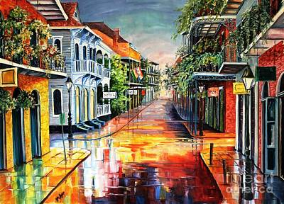 Summer Day On Royal Street Print by Diane Millsap