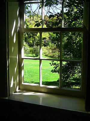 Window Photograph - Summer Day Through The Window by Susan Savad