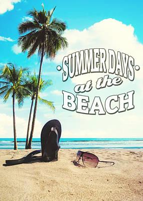 Summer Days Print by Nicklas Gustafsson