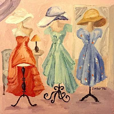 Pai Painting - Summer Dresses by Esther Pai