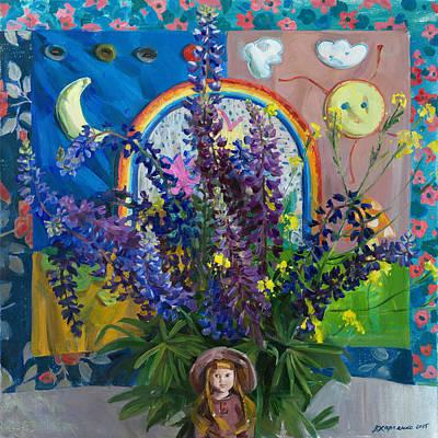 Summer Fairytale Print by Victoria Kharchenko