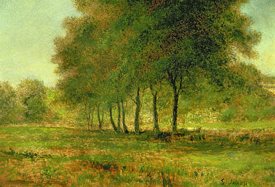 Summer Print by George Snr Inness