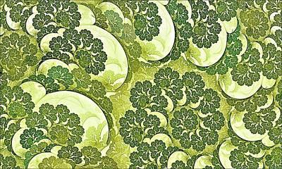 Cauliflower Digital Art - Summer Growth-1 by Doug Morgan