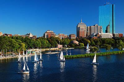 Summer In Boston Original by James Kirkikis