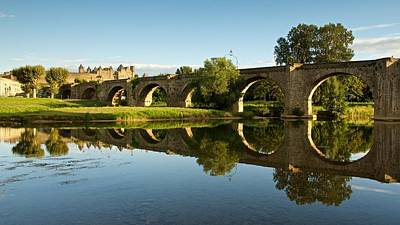 Summer In Carcassonne Print by Stephen Taylor
