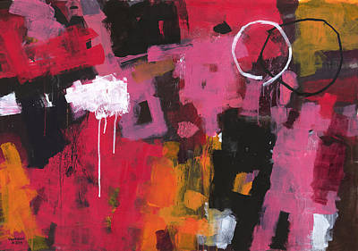 Abstract Expressionist Painting - Summer In My Mind by Douglas Simonson