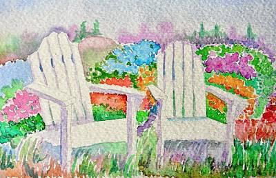 Summer In Paradise Print by Elena Mahoney