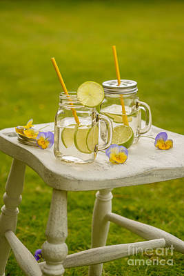 Summer Lemonade Print by Amanda Elwell