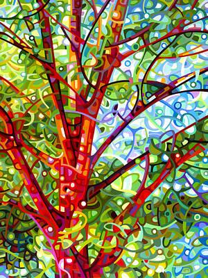 Summer Medley Print by Mandy Budan