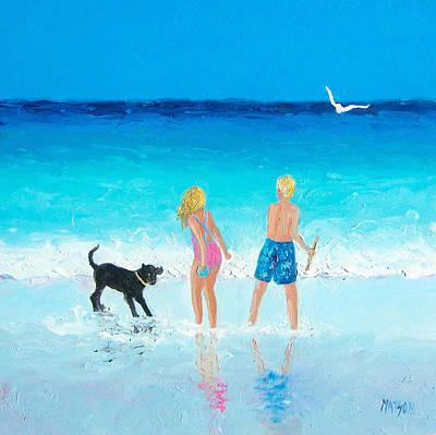 Summer Memories Print by Jan Matson