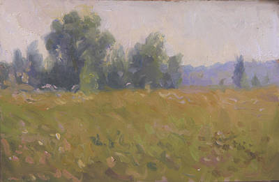 Schizzo Painting - Summer Morning Schizzo by Andrey Katerinyuk