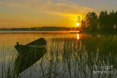 Finland Photograph - Summer Morning At 3.15 by Veikko Suikkanen