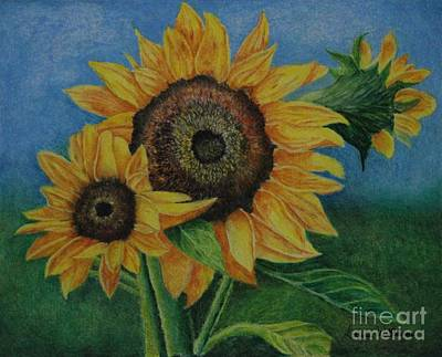 Summer Radiance Original by Louise Williams