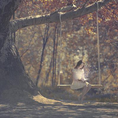 Girl Photograph - Summer Reading by Anka Zhuravleva