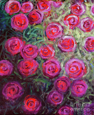Painting - Summer Roses by Priti Lathia