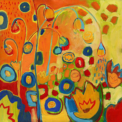 Summer Showers Original by Jennifer Lommers