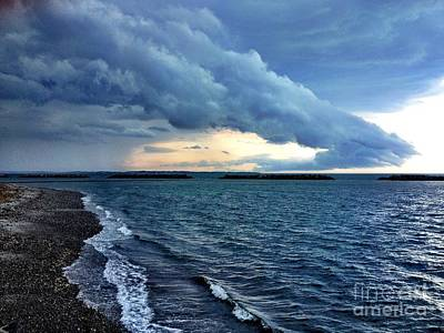 Winthrop Photograph - Summer Storm by Extrospection Art