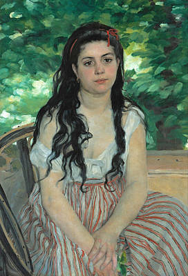 Pierre-auguste Renoir Painting - Summer by Pierre-Auguste Renoir