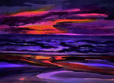 Painting - Summer Sunrise by Julianne Felton