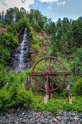 Summer Water Wheel Print by Jon Burch Photography