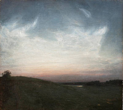 Summernight. Hosterkob Print by Julius Paulsen