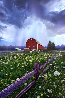 Country Living Photograph - Summer's Shower by Phil Koch