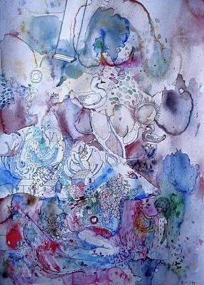 Painting - Summertime by Aurelija Kairyte-Smolianskiene