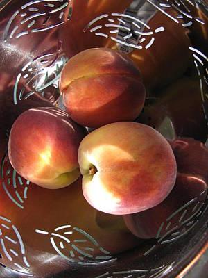Summertime Fruit Print by Lindie Racz