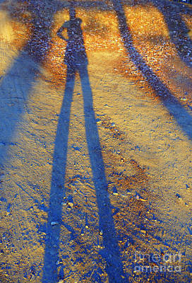 Shadow Photograph - Summertime Legs by JoAnn SkyWatcher