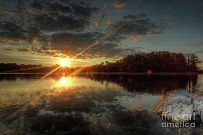 Photograph - Sun Flare  by Rick Mann
