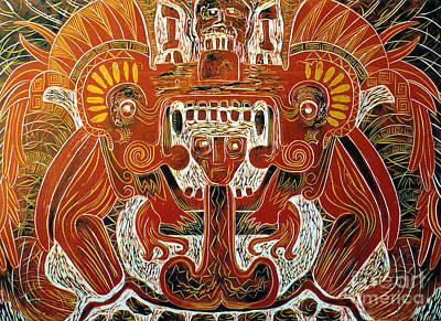 Sun God    1 Of 6 Print by Pamela Iris Harden