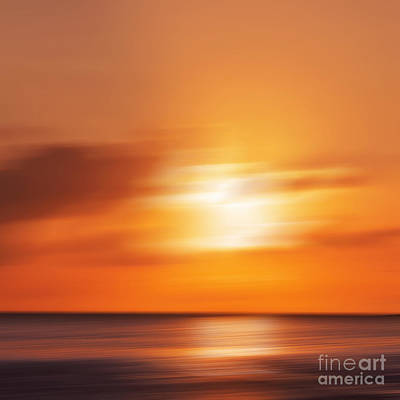 Flying Seagull Photograph - Sun Impressions by Angela Doelling AD DESIGN Photo and PhotoArt