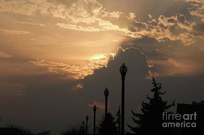 Photograph - Sun In A Cloud Of Glory by Andee Design