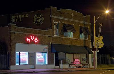 Memphis Photograph - Sun Records Studio The Birthplace by Everett