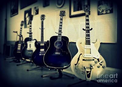 Rock Music Art Photograph - Sun Studio Classics by Perry Webster