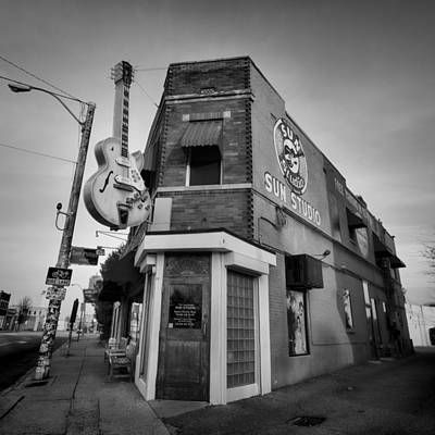 Memphis Recordings Photograph - Sun Studio - Memphis #4 by Stephen Stookey
