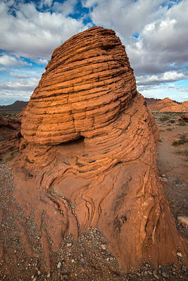 Valley Of Fire Photograph - Sun-warmed Beehive Rock by Joseph Smith