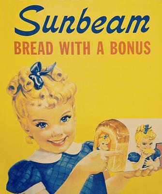 Sunbeam Girl Print by Robin Dickinson