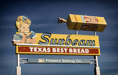 Sunbeam - Texas Best Bread Print by Mountain Dreams