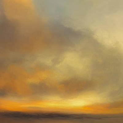 Deep Mixed Media - Sunburst by Lonnie Christopher