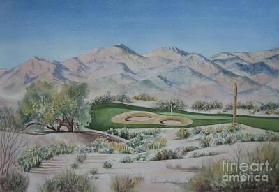 Sundance Painting - Sundance-buckeye by Deborah Ronglien