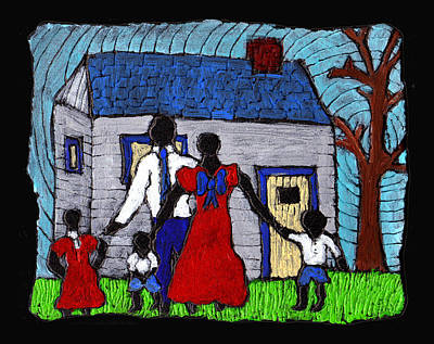 African American Painting - Sunday Morning Finest by Wayne Potrafka