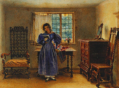 Sunday Morning Print by William Henry Hunt