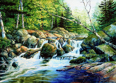 Lore Painting - Sunfish Creek by Hanne Lore Koehler