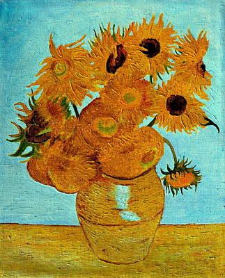 Sunflowers Original by Henryk Gorecki