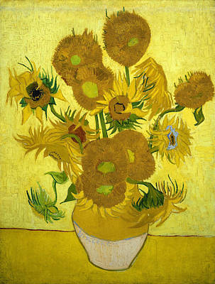 Sunflowers Print by Van Gogh