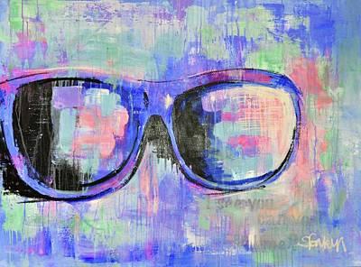 Sunglasses Painting - Sunglasses IIi by Stephanie Fonteyn