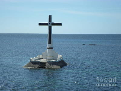 Sunken Cemetery Of Camiguin  Island Print by Kay Novy