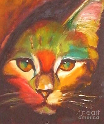 Oil Drawing - Sunkist by Susan A Becker